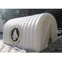 China White Advertising Inflatable Tent , UV Resistant Inflatable Shelter Tent on sale