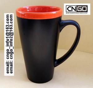 Quality fashion big Chalk Mug free your hand wholesale16oz Ceramic Chalk Mugs cups wholesale
