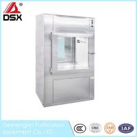 Buy cheap Dynamic Air Shower Pass Box , ISO Horizontal / Vertical Clean Room Pass Thru Box from wholesalers