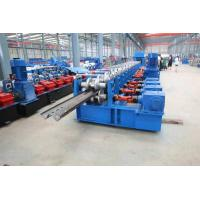 Quality High Way Crash Barrier Panel Roll Forming Machine Two Waves and Three Waves wholesale