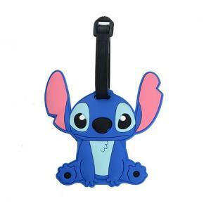 China Custom 3D soft silicone luggage tag/ rubber bag tag/custom printed labels plastic luggage tag on sale