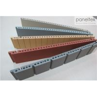 Quality Colorful Ceramic Exterior Wall Panels Products Reliable 300 * 800 * F18mm Size wholesale
