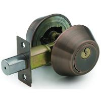 Quality High Quality Tri-Circle Deadbolt Door Lock D102AC wholesale
