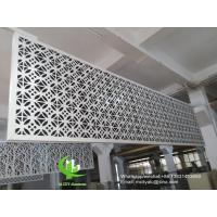 Quality Metal aluminum facade cladding wall for facade curtain wall  with 3mm thickness aluminum panel wholesale