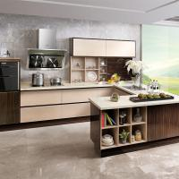 Quality High Density Particle Board Laminate Kitchen Cabinets High Moisture Resistant wholesale