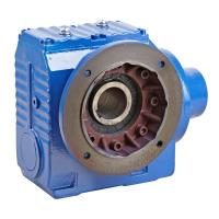 Quality Right Angle Helical Worm Gear Speed Reducer , S Series 90 Degree Gearbox wholesale