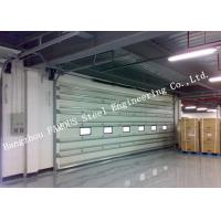 Quality Vertically Opening Transparent Industrial Garage Doors With Flexible Curtain Shutter Doors wholesale