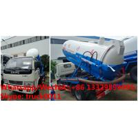 Quality high quality and best price dongfeng 3cbm vacuum sewer cleaner truck for sale, good price 3,000Liters vacuum truck wholesale