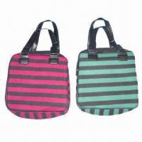 Quality Polyester handbags, customized designs are accepted wholesale