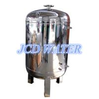 Quality Vertical Stainless Steel Water Tanks , Drinking Water Storage Tanks wholesale