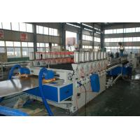 China WPC Builing Template Wood Plastic Composite Extrusion Line , WPC Foam Board Extruder on sale