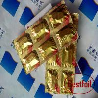 China PE coated aluminum foil for pharmaceutical packing on sale