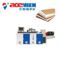 China Decorative PVC Ceiling Panel Making Machine With Vacuum Setting Table Blade Cutter on sale
