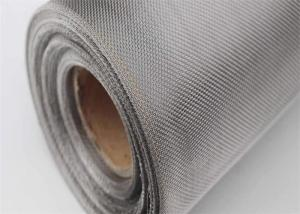 China Ultra Fine Oil Filter Rolls Stainless Steel Woven Wire Mesh on sale