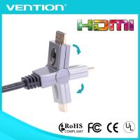 Quality 180 Degree Rotating High Speed HDMIi Cable with Ethernet 19pin Gold Plated Connector wholesale