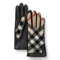 Quality Leather Gloves with Cloth in Back Side (CS1043) wholesale