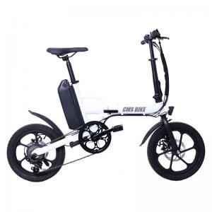 Quality 250W Rear Drive 32KM/H Fat Tire Folding Electric Bike wholesale