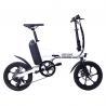 Buy cheap 250W Rear Drive 32KM/H Fat Tire Folding Electric Bike from wholesalers