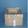 Buy cheap Manufactory wood Fabric Storage Box, Storage Organizer from wholesalers