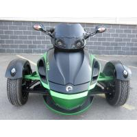 Quality 1000cc Can Am 3 Wheel Motorcycle , V - Twin 2 Front Wheel Motorcycle Liquid Cooled wholesale