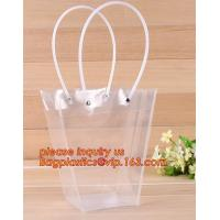 China Advertisement shopping bag /supplier pp waterproof gift bag,hand bag PP plastic transparent gift bag wholesale PE bag on sale