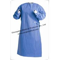 Quality Protective Non Woven Surgical Gown Lightweight Breathable SMS / SMMS wholesale