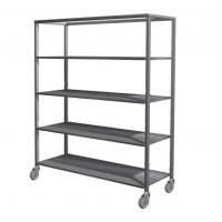 silver removable 5 tier stainless steel storage shelves. Black Bedroom Furniture Sets. Home Design Ideas