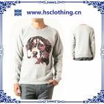 Quality 2015 New Style men's plain cotton hoodies wholesale