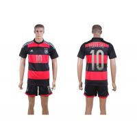 Quality Wholesale New hotest germany national team away kit 2014 World Cup Spain soccer jersey set wholesale