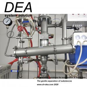 China Large Scale Rotary Vacuum Film Evaporator / Agitated Thin Film Evaporator For CBD Crude Oil on sale