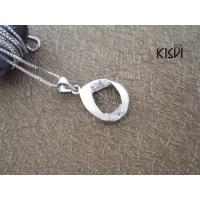 Quality 2012 Hot Selling Fashion Jewelry 925 Sterling Silver Gemstone Pendant with Zircon W-VB859 wholesale