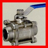 China Forged Metal Seated Floating Ball Valve / Flanged Type Wafer Ball Valve on sale