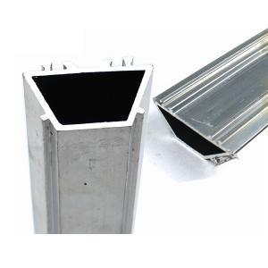 China Square Aluminum Heatsink Extrusion / Window Frame Parts Good Water Tightness on sale