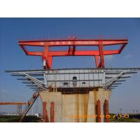 Quality Bridge Beam Segment Lifter Crane Launched by Hydraulic System With Steel Wheel wholesale