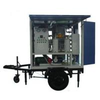 Quality Single-axle Trailer & weather-proof Type Vacuum Transformer Oil Filtration Machine wholesale