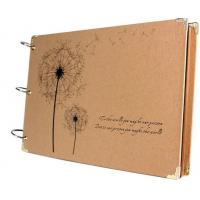 Quality Scrapbook Vintage Photo Albums Dandelion Printed Surface Ideal Valentines Day Gifts wholesale