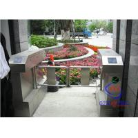 China Automatic Swing Barrier Gate with counter For Biometric Access Control system on sale