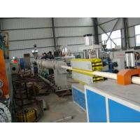 Quality PVC pipe tube making machine extrusion line production with price wholesale