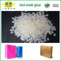 Quality Good Fluidity Waterproof Hot Melt Adhesive / Paper Hand Bag Sealing Glue wholesale