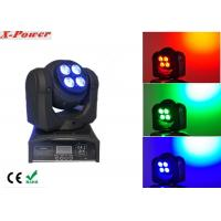 Quality Double Face 4*10W Wash with 1*10W Beam LED Moving Head Light   X-87A wholesale