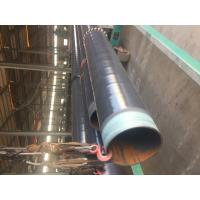 Quality DN 500 ASTM A106 Coated Steel Pipe CSA Z245.21 3L PE Coating Bevelled End wholesale