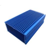 China Blue Aluminum Extrusion Enclosure Electronic Enclosure for Project on sale