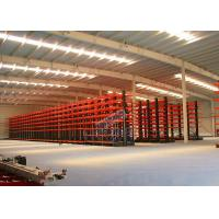 Quality Q235B Steel Cantilever Storage Racks , Selectivity Heavy Duty Cantilever Racking wholesale