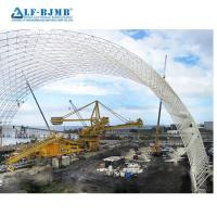 Quality Large Span Steel Space Frame Structure Coal/Cement/Limestone/Clinker/Grain Storage Sheds Structure wholesale