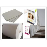 Quality One layer Grayboard Laminated Grey Board Paper for Desk Calendar wholesale