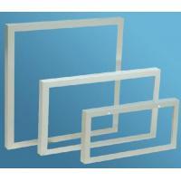 Quality Aluminum Extrusion Frame For Solar Panels , Anodized Extrusion Profiles With Corner Key Joint wholesale
