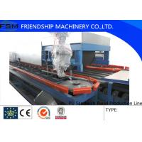 Quality 12000*12000mm PU Sandwich Panel Production Line With PLC Control System wholesale