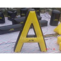 "Quality "" A"" Shape Tactical Inflatable Paintball Bunker / Air Bunkers for Paintball Games wholesale"