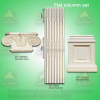Buy cheap High quality PU Plane Roman Pillar for interior and exterior decoration from wholesalers
