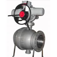China Casting Trunnion Ball Valve / SS Ball Valve API ISO CE Certification on sale